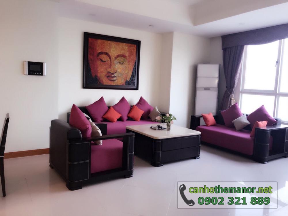 thuê - mua căn hộ 113m2 Block AW - The Manor 1 tầng cao - hình 2