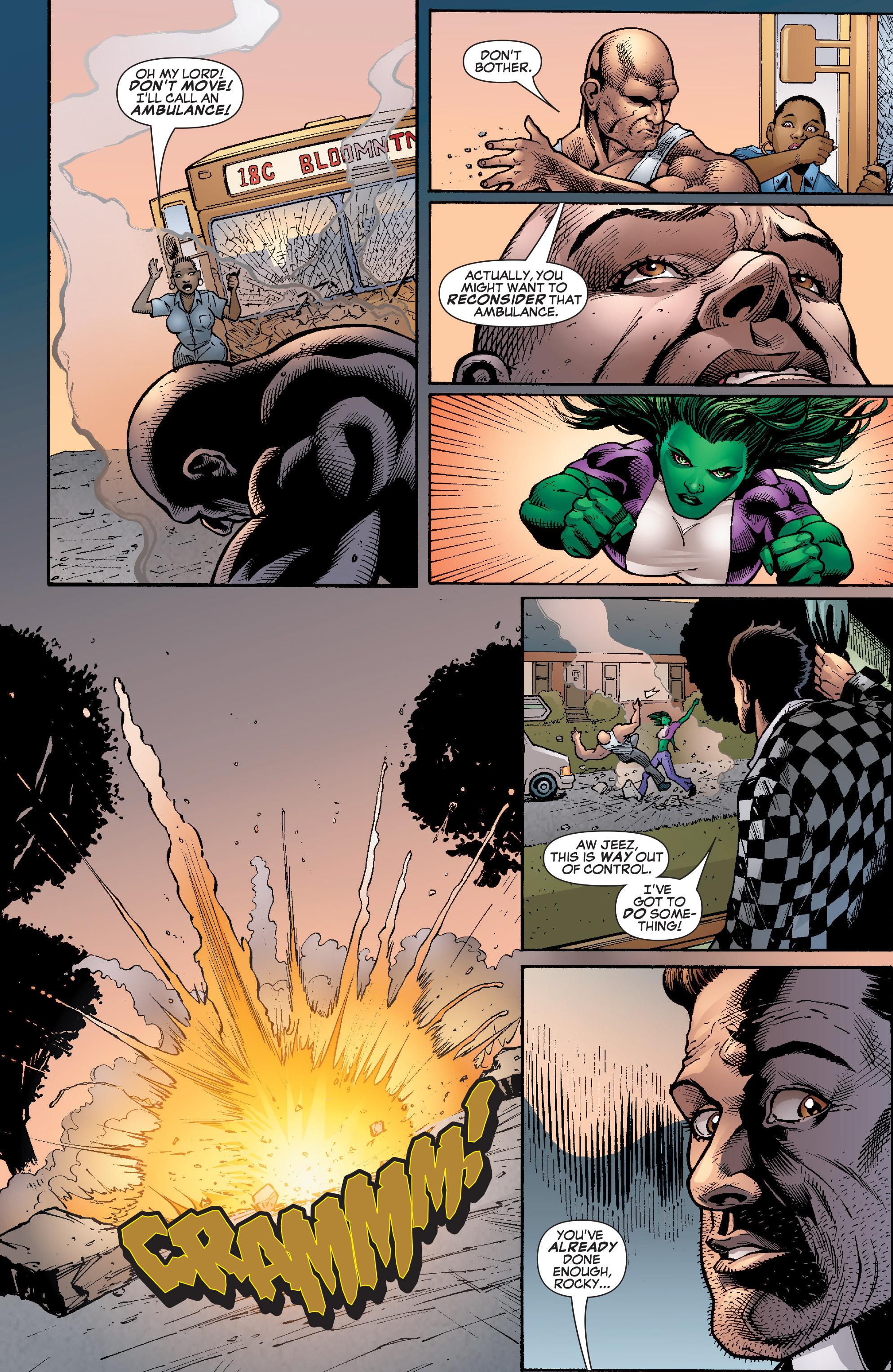Read online She-Hulk (2005) comic -  Issue #22 - 21