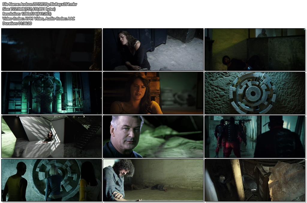 Andron 2015 720p BluRay 720MB x264 Screenshot