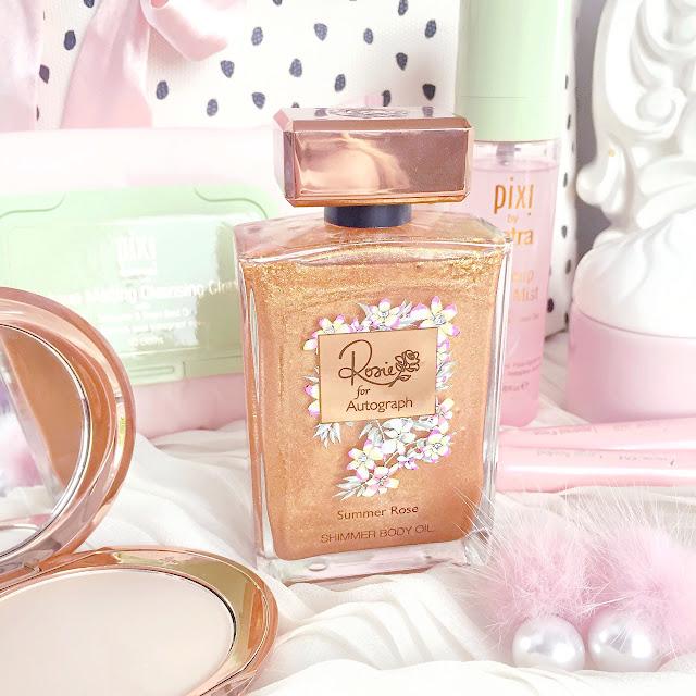 Rosie for Autograph | Summer Rose Shimmer Body Oil