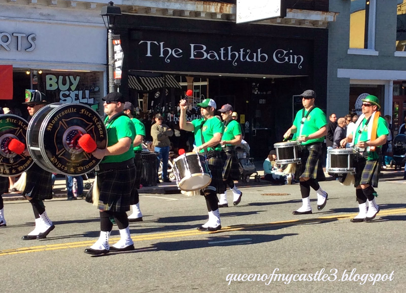 Mooresville Fire Pipes & Drums band