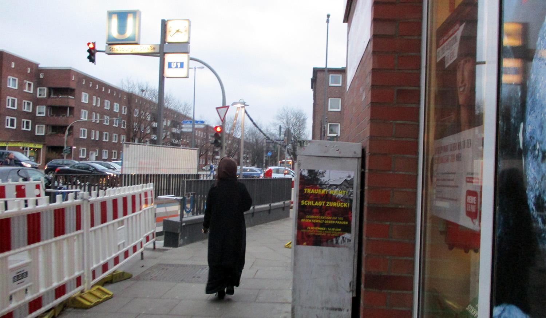 Hamburg st georg strich