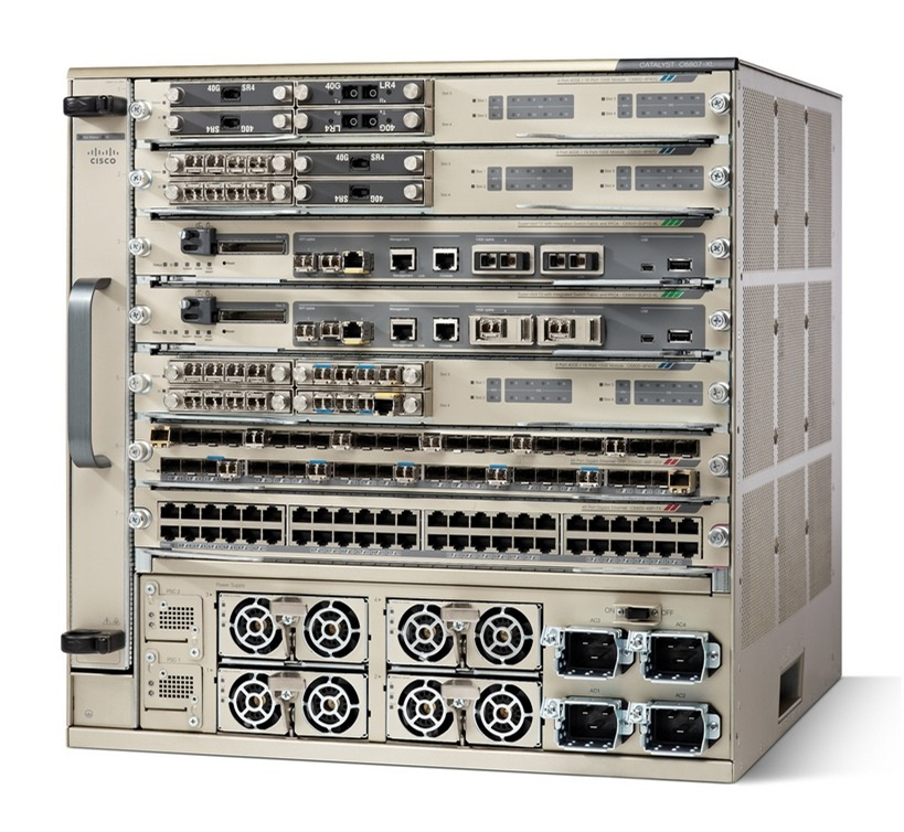 Cisco Catalyst 6807-XL Switch: Optimize for 10 Gigabit Campus Services