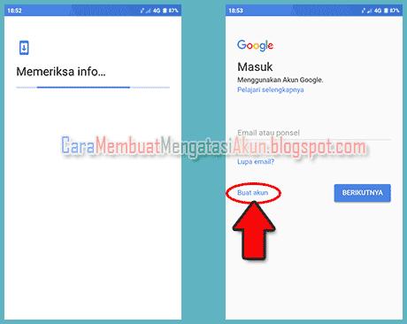 cara membuat akun google di xiaomi redmi 5a