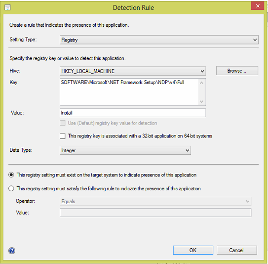 How to add Microsoft Dot Net Framework 4 to your Software Catalog in SCCM. - TechyGeeksHome