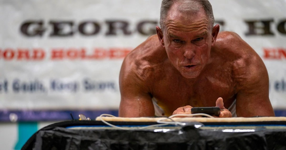 Meet The 62-Year-Old Man Who Broke The Guinness World Record For Holding Abdominal Plank Position For 8 Hours