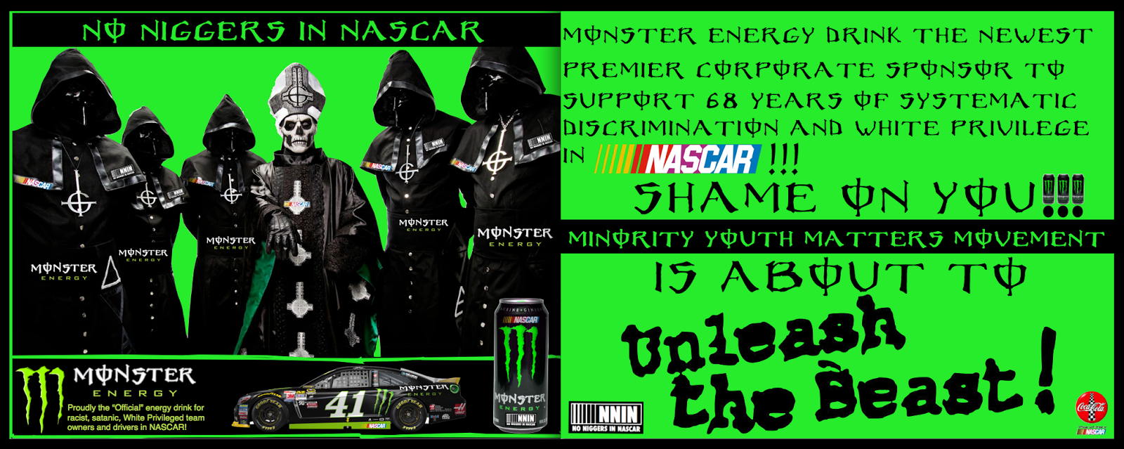 Is Monster Energy Drink Satanic Ace Energy