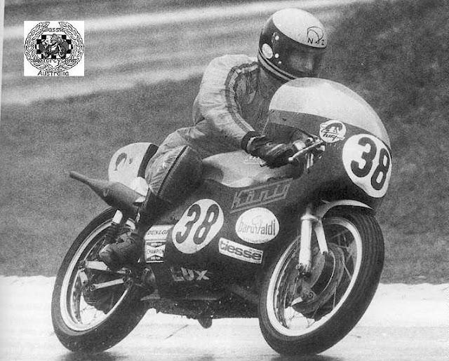 Kim Newcombe Konig Motorbike