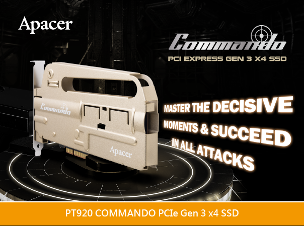 Apacer PT920 COMMANDO Gaming SSD