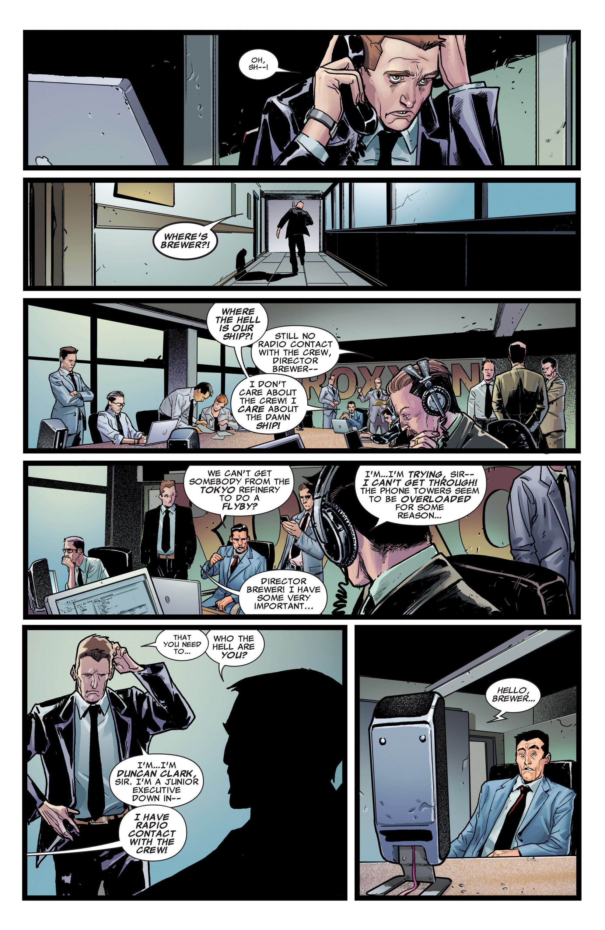 Read online Astonishing X-Men (2004) comic -  Issue #37 - 12