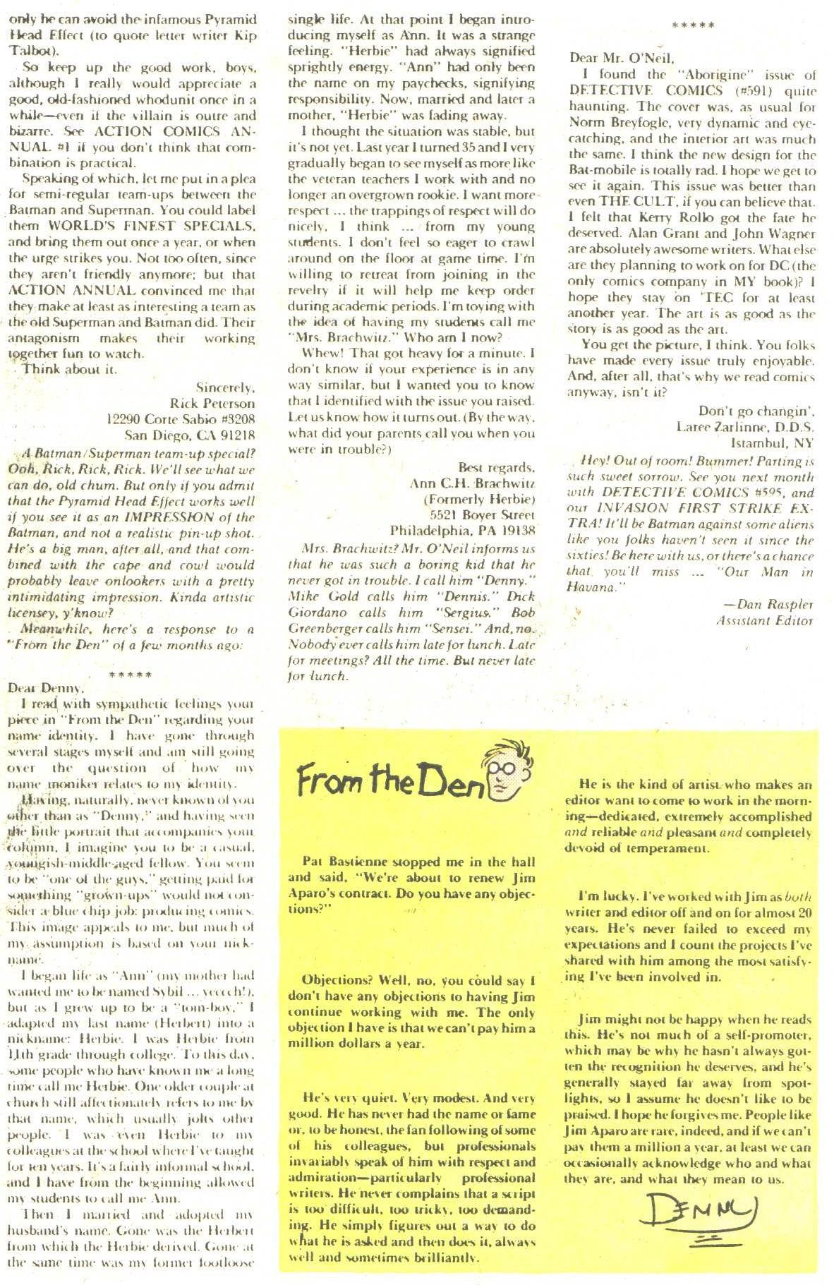 Detective Comics (1937) 594 Page 33