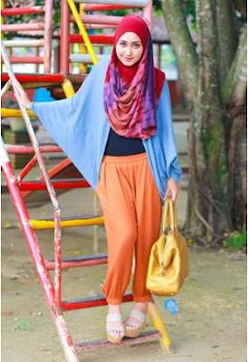 Baju Muslim Casual Dian Pelangi7