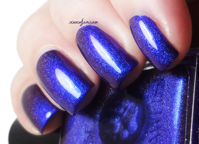 xoxoJen's swatch of Bear Pawlish Luscious holo