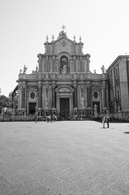 Piazza Duomo e Cattedrale di Sant'Agata-Catania