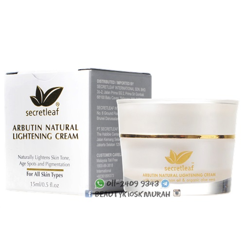 Arbutin Natural Lightening Cream