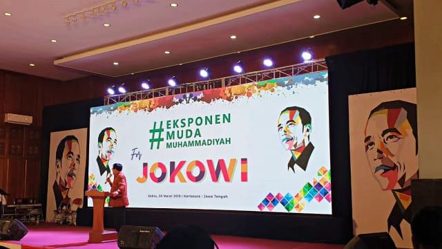 Ribuan Eksponen Muda Muhammadiyah Deklarasi Dukung Jokowi