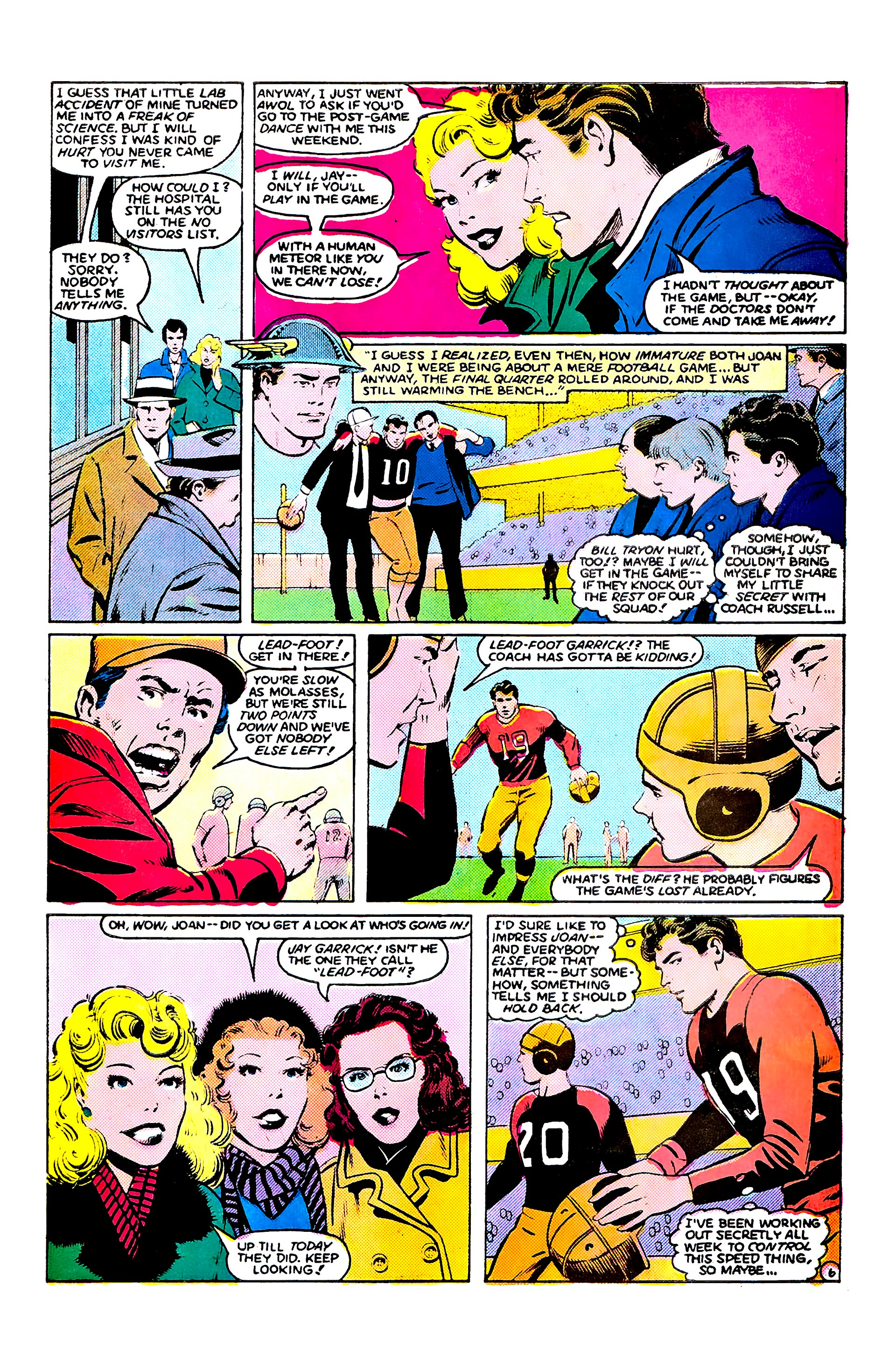 Read online Secret Origins (1986) comic -  Issue #9 - 30