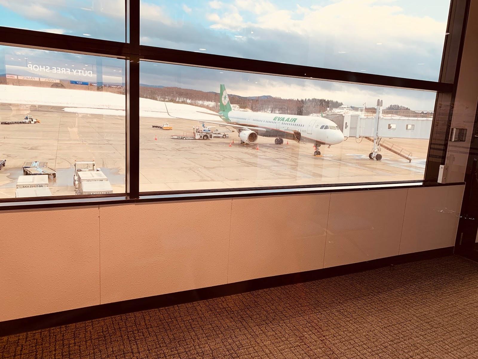 青森空港-登機口