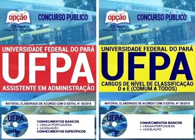 Apostila Concurso UFPA 2018 Técnicos Administrativos