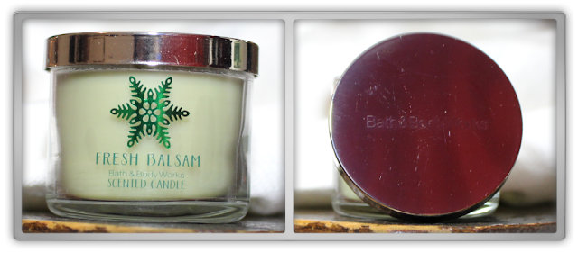 Bath & Body Works Christmas Haul Review scented candle mini 1 wick fresh balsam tree 2