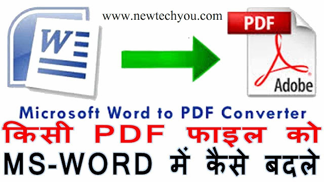 convert pdf to word and text