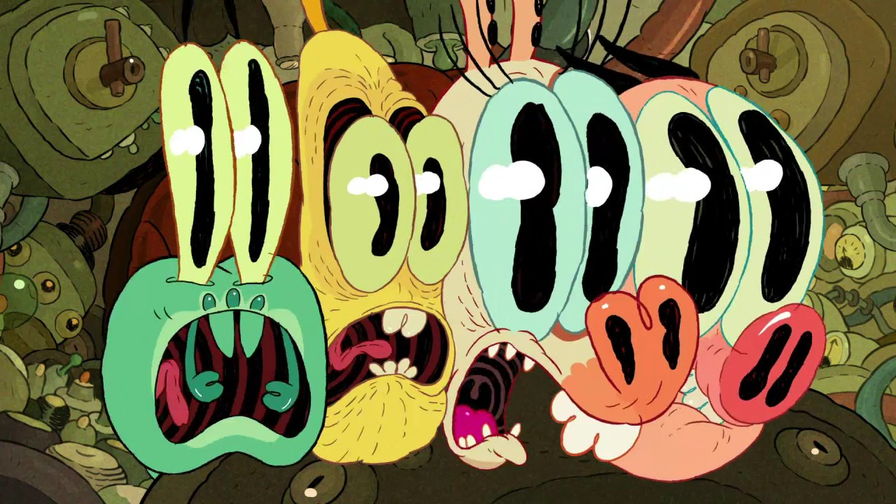 Flow Like Water (cartoon): Pig Goat Banana Cricket!