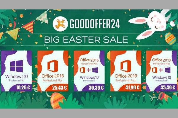 Goodoffer24 - Αγοράστε Νόμιμα τα Windows 10 με μόλις 10.52€ (κουπόνι έκπτωσης)