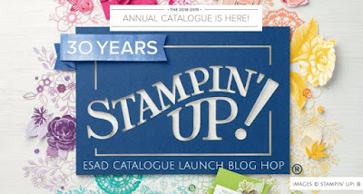 Jo's Stamping Spot - ESAD 2018 Annual Catalogue Launch Blog Hop