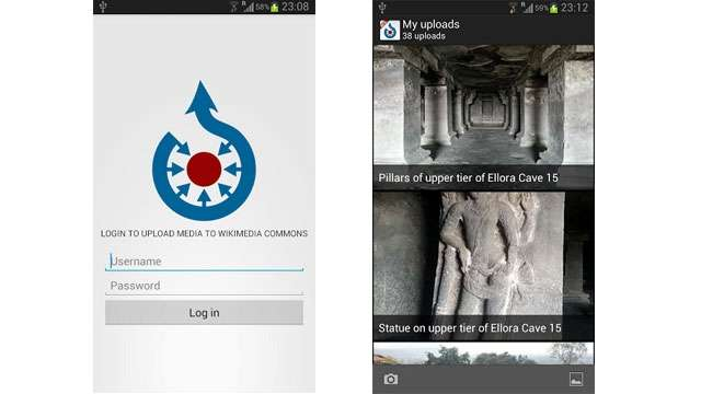 "A new smartphone application has been launched by the Wikimedia Foundation: ""Wikimedia Commons"" allows users to easily add free images encyclopedic website and collaborative."
