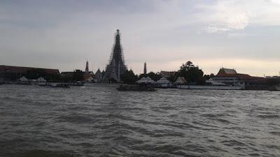 Templo del atardecer de Bangkok