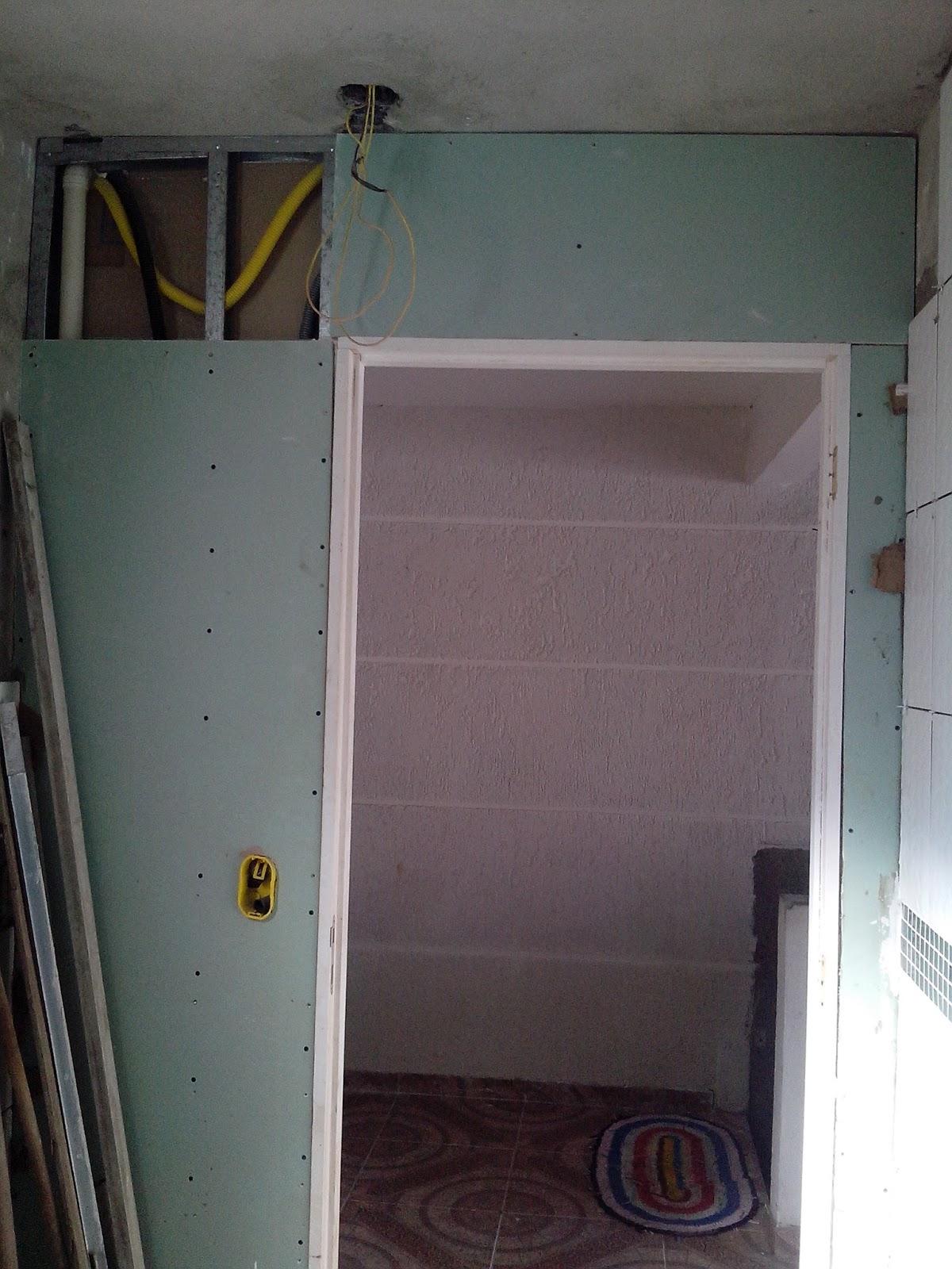 Banheiro em Drywall !  Projeto Casa Cor # Drywall Banheiro Pequeno