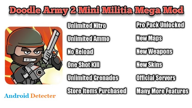 Mini Militia MOD Apk – Pro Pack, Unlimited Ammo, Ulimited Health [Latest]