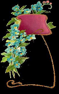 flower frame digital image