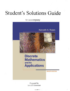 solution manual discrete mathematics and its applications 7th rh pucit online blogspot com discrete math kenneth rosen solution manual pdf discrete mathematics rosen solution manual
