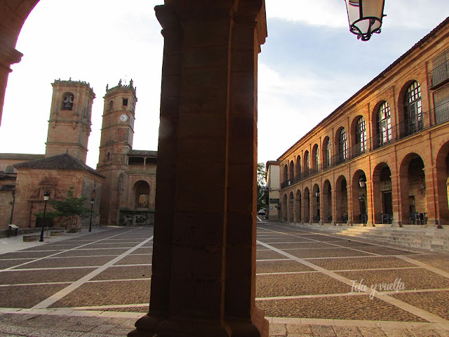 Plaza Mayor Alcaraz