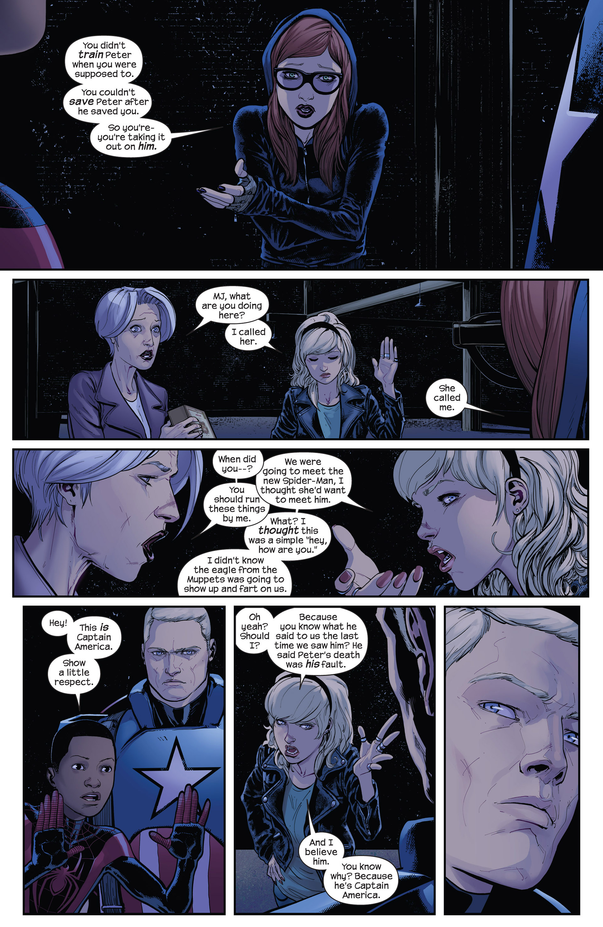 Read online Ultimate Comics Spider-Man (2011) comic -  Issue #14 - 6