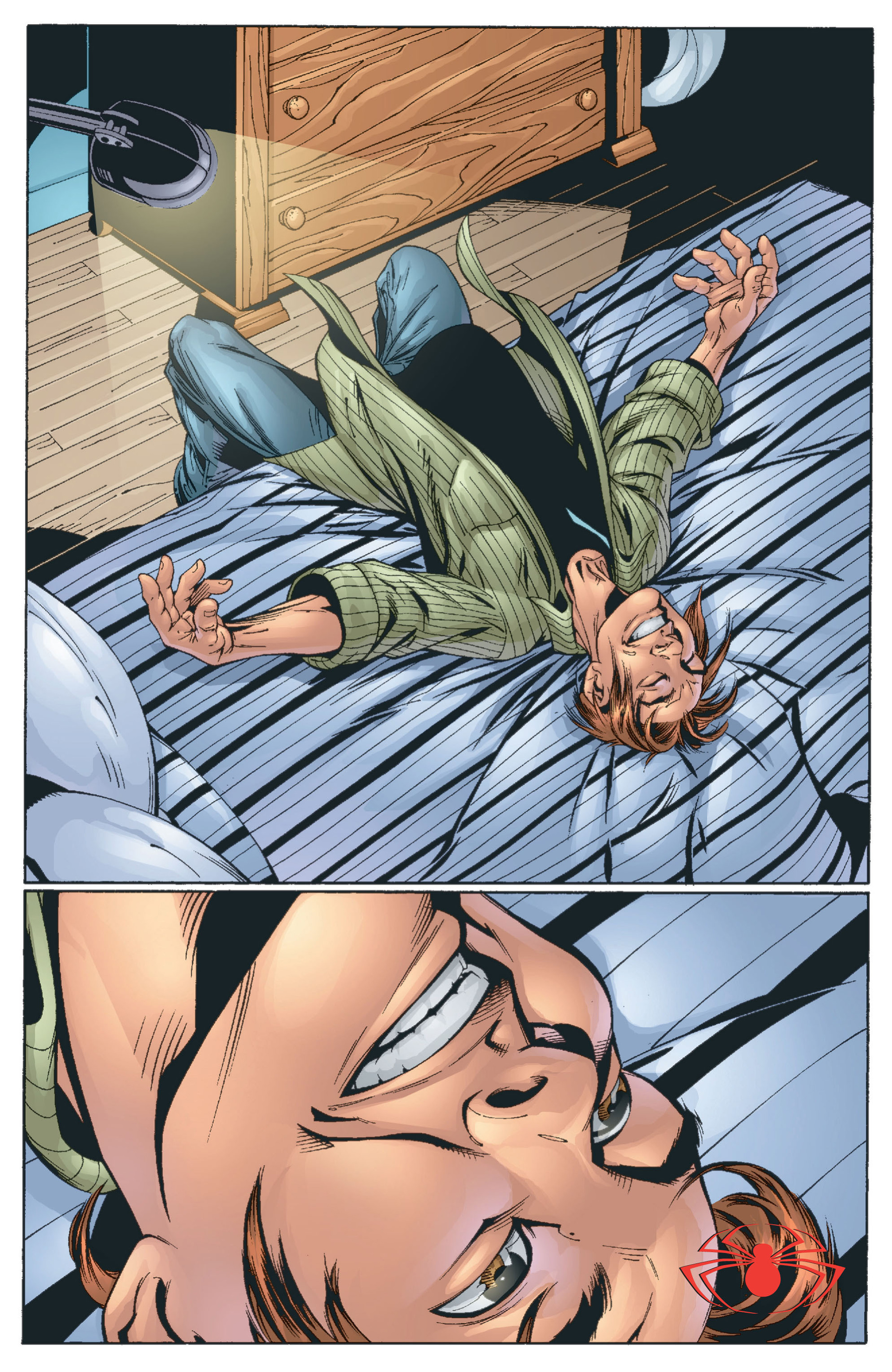 Read online Ultimate Spider-Man (2000) comic -  Issue #13 - 23