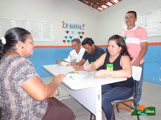 O dia da eleição em Córrego de São Mateus