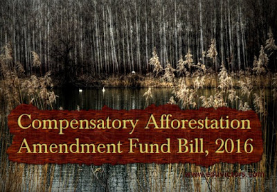 Important points About Compensatory Afforestation Amendment Fund Bill, 2016