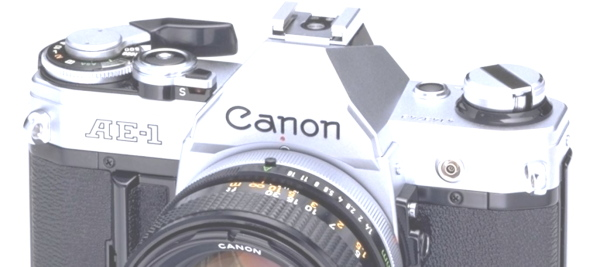 Canon A-Series 35mm MF SLR Film Cameras