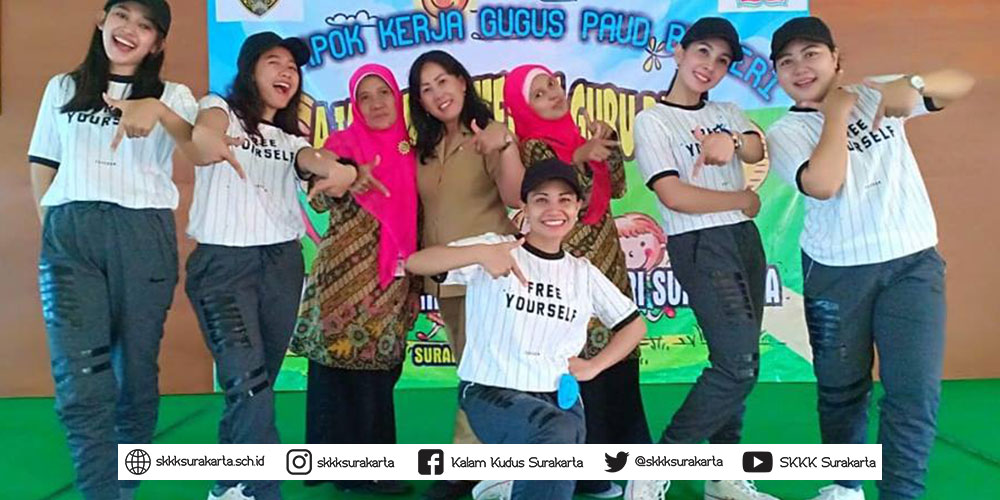KB-TK Kalam Kudus Surakarta Juara 1 Lomba Cipta Senam