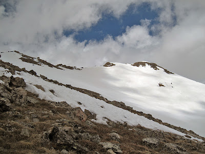 The final ridge on Mount Massive