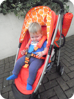 cosatto yo! toffee apple, orange pushchair