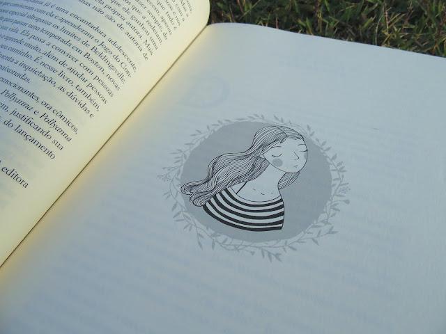 desenho do livro Pollyanna Moça escrito por Eleanor H. Porter
