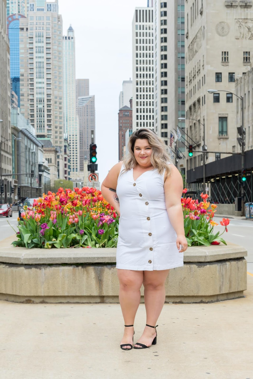 Chicago Plus Size Petite Fashion Blogger, YouTuber, and model Natalie Craig, of Natalie in the City, review's CoEdition and Warp + Weft.