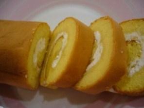 Cara Membuat Resep Bolu Gulung Durian