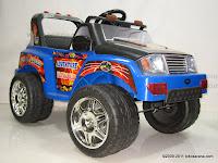 1 Mobil Mainan Aki Pliko PK9128N Adventure dengan 2 Dinamo Motor