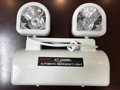 Không lắp đèn sự cố, đèn exit bị phạt bao nhiêu?
