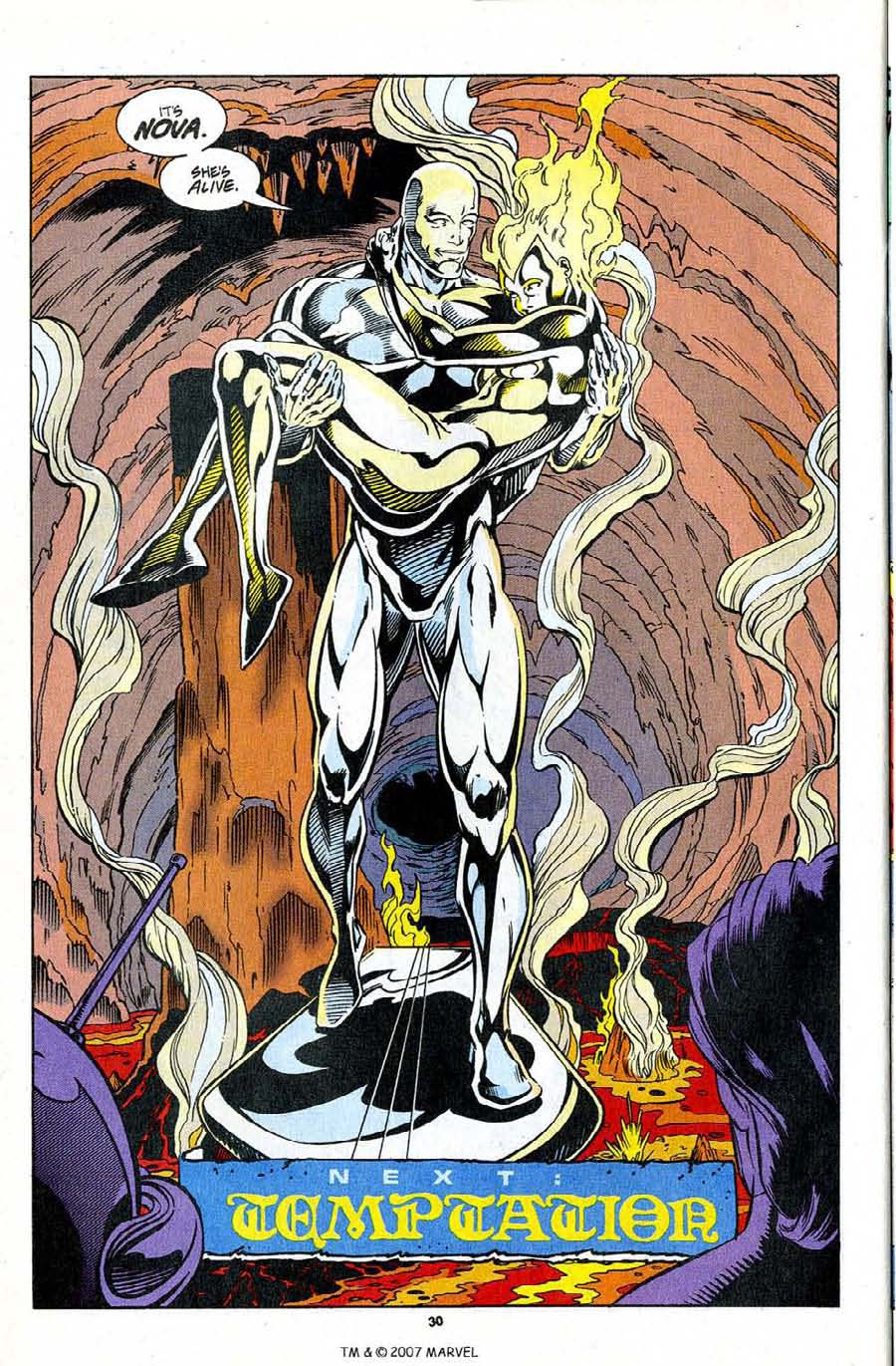 Read online Silver Surfer (1987) comic -  Issue #96 - 32
