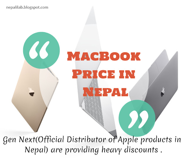Macbook gets heavy discount in Nepal Updated Price List
